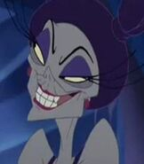 Yzma in Kronk's New Groove