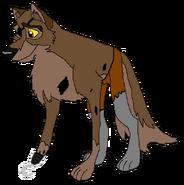 Balto as Foxy