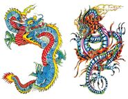 Chinese and Japanese Dragons