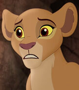 Kiara in The Lion Guard