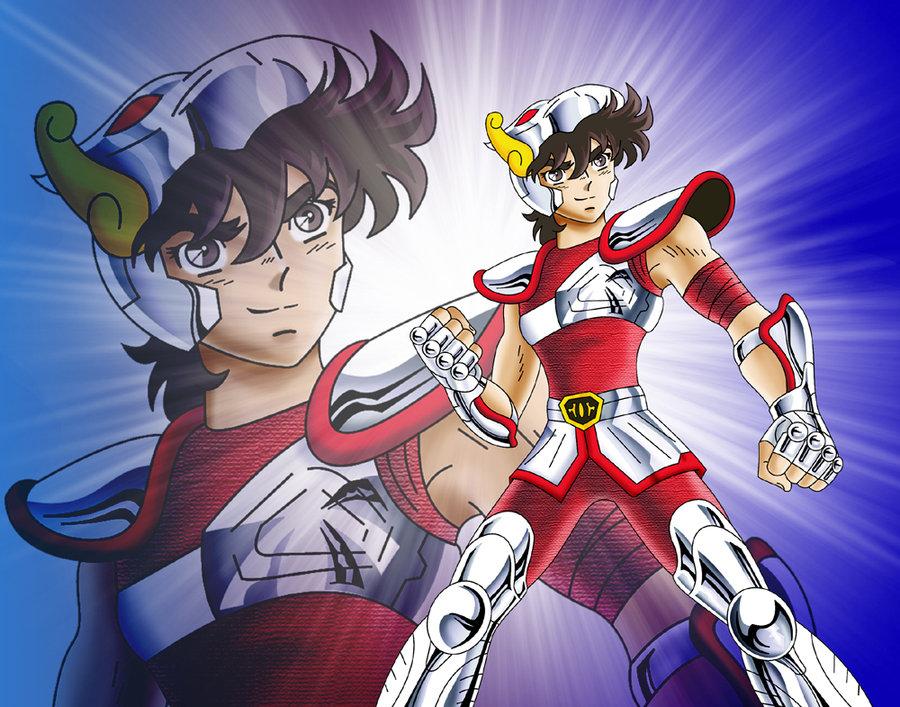 Pegasus Seiya the first avenger