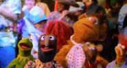 The Muppets dancing to Celebration
