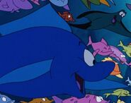 The little mermaid bluefin tuna