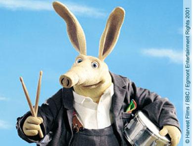 Sludger the aardvark