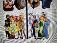 Courtney Babcock, Tulip, Honey Lemon, Mavis, Addie McAllister, Audrey and Star Butterfly vs The Joker, Harley Quinn, Two Face, The Penguin, Killer Croc, Poison Ivy and The Mad Hatter