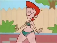 Dexter's Lab - Better Off Wet - Full Episode - Part 4 - Dexter's Mom walks to the diving board.