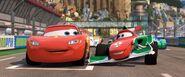 Lightning McQueen and Francesco