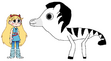 Star meets Grant's Zebra