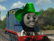 Thomas wearing cowboy hat 6
