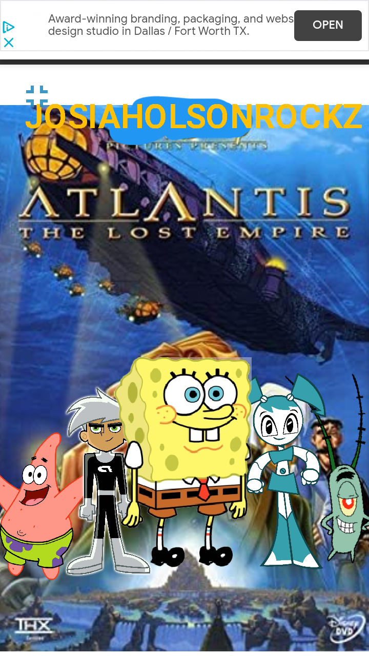 Atlantis: The Lost Empire (JosiahOlsonRockz Style)
