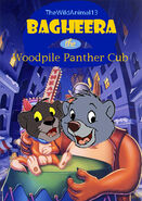Bagheera the Woodpile Panther Cub Poster