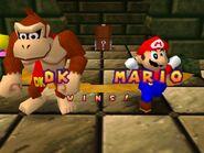 Mario party 64 mario and dk