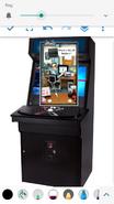 Office jerk arcade game
