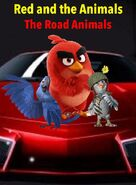 Red and the Animals- The Road Animals Poster