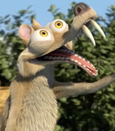 Scrat in Ice Age - The Great Egg-Scapade