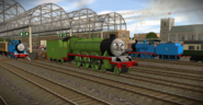 A day at the station by originalthomasfan89-d8bpj21