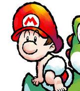Baby Mario in Yoshi's Island DS