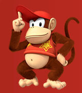 Diddy Kong in Mario and Sonic at the Rio 2016 Olympic Games