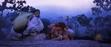 Eep and The Croods Sleeping