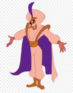 Flynn Rider as Aladdin