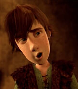 Hiccup in Book of Dragons