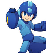 Mega Man in Mega Man 11