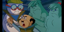 Mr. Spacely defeated in The Jetsons The Movie) (1990)