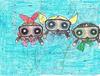 Powerpuff Girls Scuba Diving