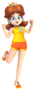 Princess Daisy Render Sports Outfit