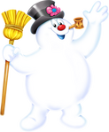 Property hero character frosty