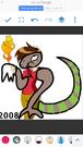 Stanley as Komodo Dragon