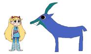 Star Meets Sable Antelope
