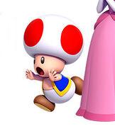 Toad in New Super Mario Bros. U