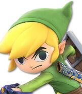 Toon Link in Super Smash Bros. Ultimate