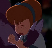 Cecilia crying