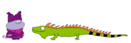 Chowder meets Iguana