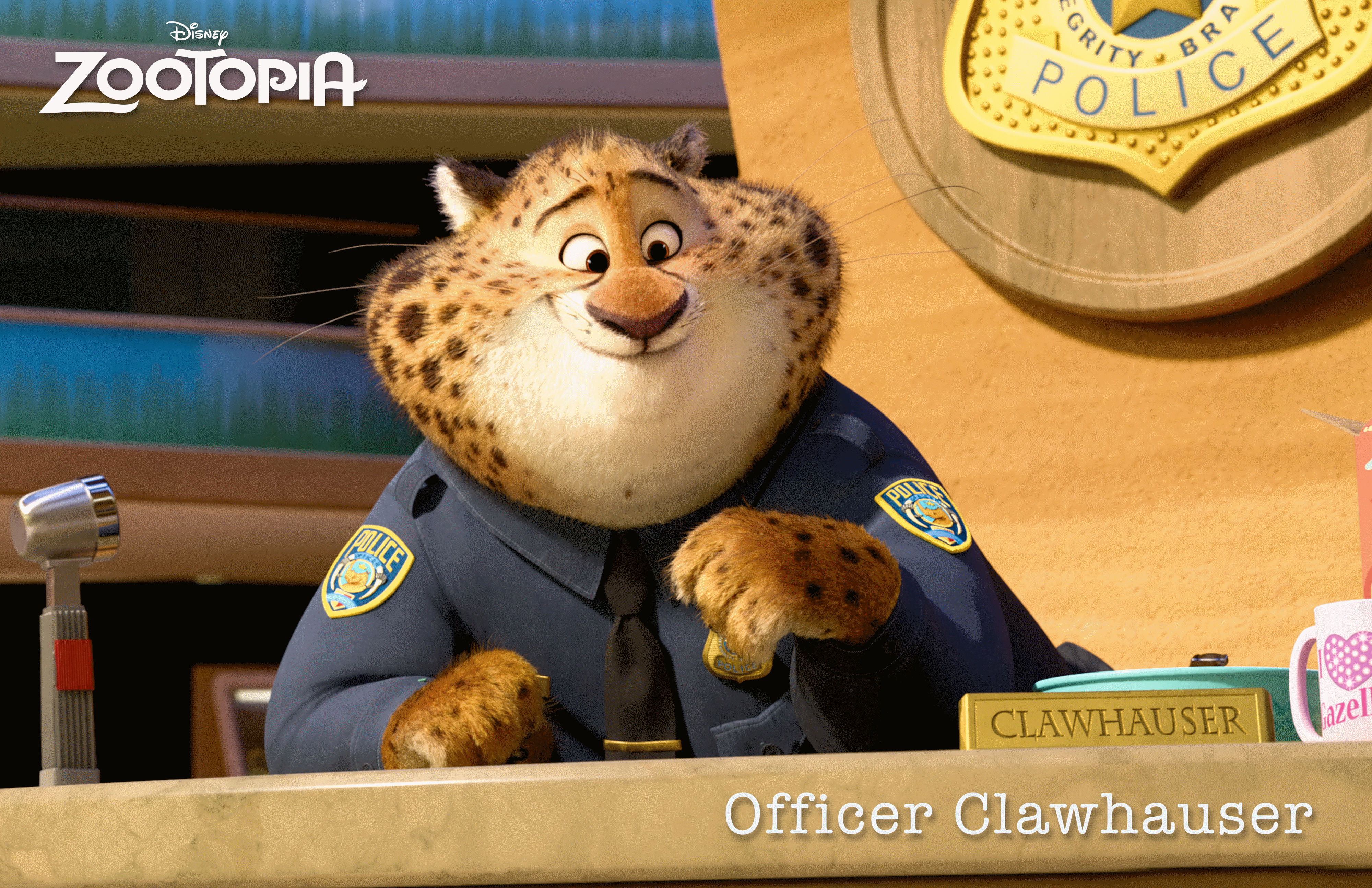 The Many Adventures of Benjamin Clawhauser