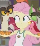 Fluttershy in My Little Pony- Equestria Girls- Legend of Everfree