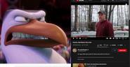 Hunter (Storks) vs Psycho Dad