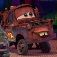 Mater funny face