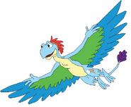 Rainbow dash as dinosaur