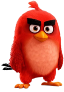 Red the Red Bird Transparent