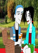 Request andrew and emily having a picnic by sup fan dc37nf1-fullview