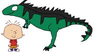 Stanley Griff meets Giganotosaurus