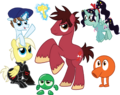 Wreck-It Ralph and Vanellope von Schweetz ponified