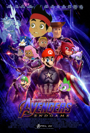 Avengers Endgame Poster (JimmyandFriends 29 Style) Version 1.png