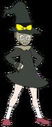 Elycia scarecrow outfit