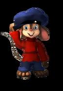 Fievel Mousekewitz 3D wTail