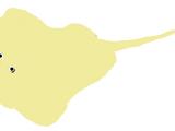 Flatty the T-Bone Yellow Ray