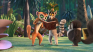 Lemurs reading the Good Book